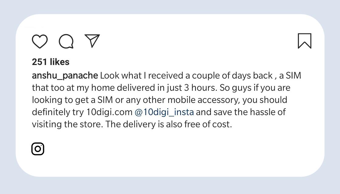 10digi happy customer