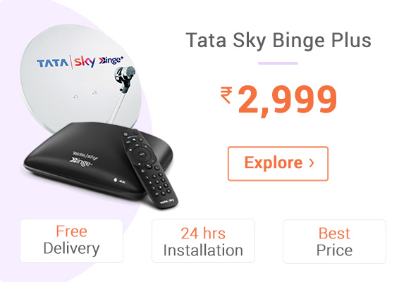 TATA Sky Binge Plus